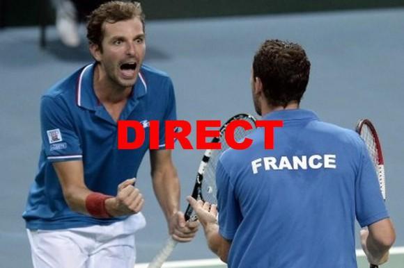 Voir demi-finale Coupe Davis 2014 en direct et match France République Tchèque en streaming