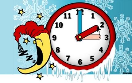 Ce dimanche, à  3 heures du matin, il sera 2 heures