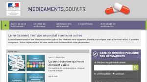 Le site Internet dédié aux médicaments