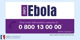 Numéro vert Ebola