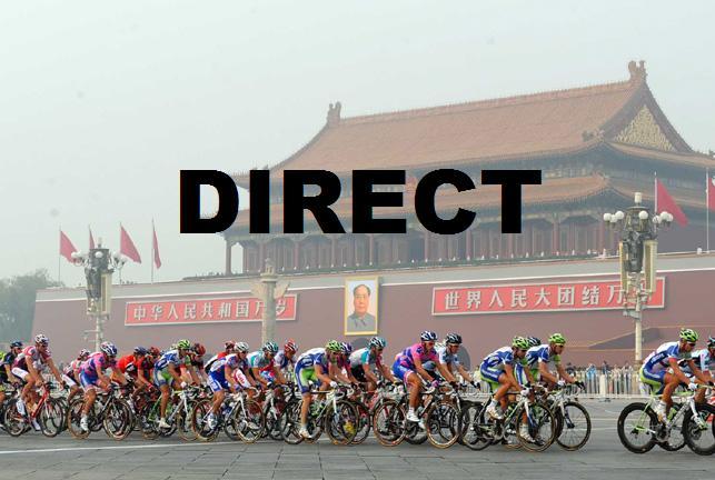 Regarder Tour de Pekin 2014 en direct live TV et vidéo streaming 1ere étape Chong Li