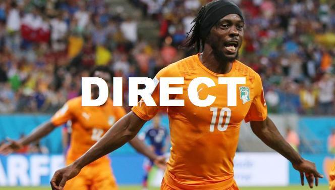 Regarder match Côte d'Ivoire Congo RD 15 octobre en direct streaming et voir replay buts