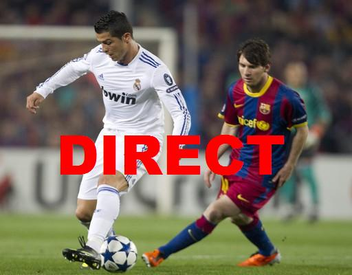 Retransmission match Real Madrid FC Barcelone 2014 en direct live : Voir Liga en vidéo