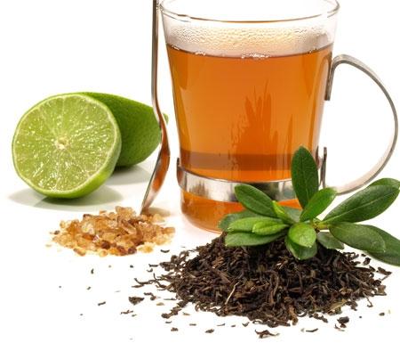 Thé noir au citron