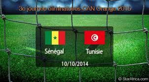 Sénégal Tunisie CAN 2015