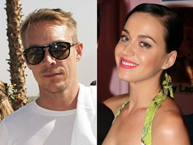 Le Dj Diplo et Katty Perry