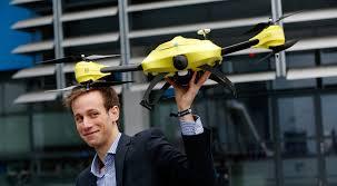 Alec Momont un étudiant en ingénierie belge est à l'origine de ce drone