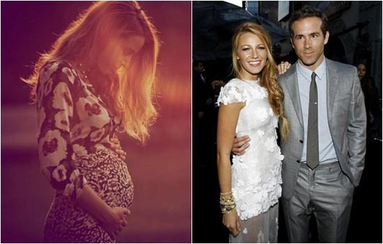 Blake Lively enceinte ne connait pas le sexe de son bébé