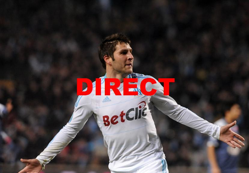 Diffusion TV match OM RC Lens 2014 en direct + streaming vidéo buts Marseille