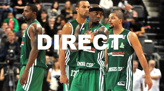 Match Euroligue Basket en direct : Retransmission CSP Limoges Alba Berlin 2014 en streaming