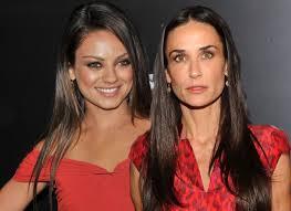 Mila est agacée par la présence de Demi Moore près de sa fille
