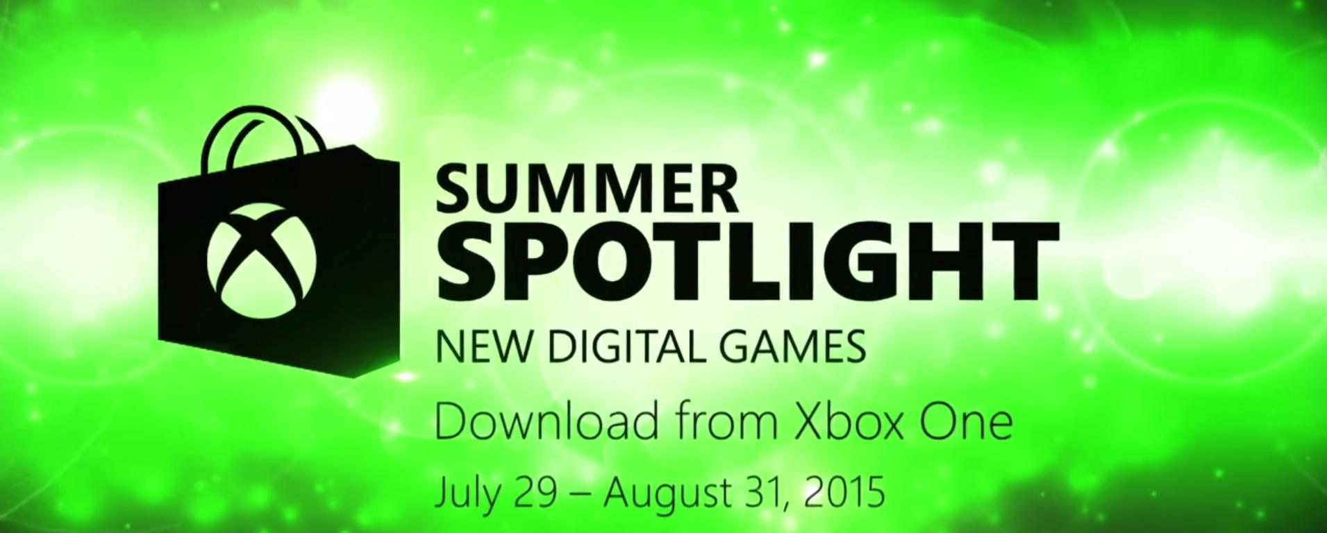 Le Summer Spotlight sur Xbox One