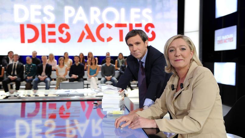 Des Paroles et des Actes avec Marine Le Pen ce 22 octobre sur France 2