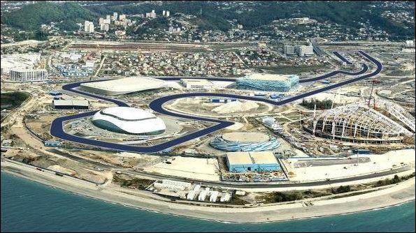 Le Grand Prix de F1 de Russie et son palmarès