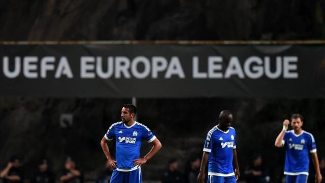 Les difficultés de l'OM dans le football en 2015