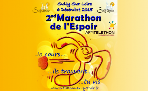 La course à pied et l'organisation du marathon de l'espoir