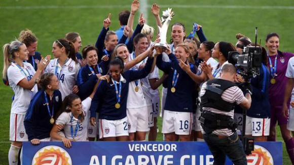 Le football féminin à l'honneur avec les meilleures équipes présentes à l'Algarve Cup