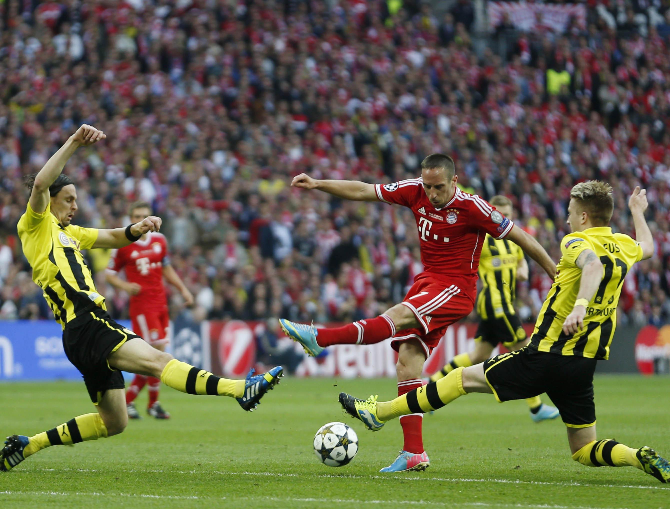 Le Bayern Munich et le Borussia Dortmund sont encore au sommet de la Bundesliga