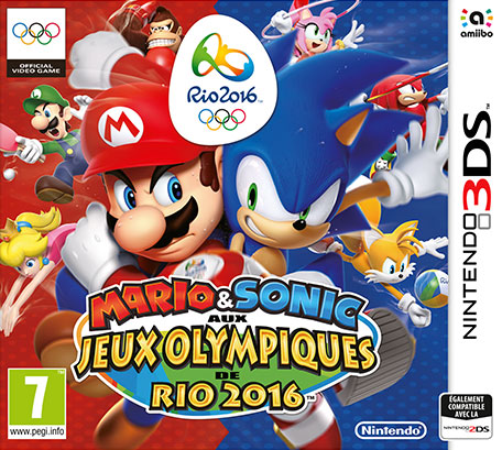 Mario & Sonic aux Jeux Olympiques de Rio 2016 3DS
