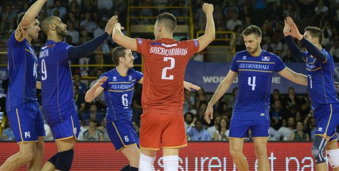 La Ligue mondiale de volley-ball 2016 offre ses premiers matchs pour l'équipe de France