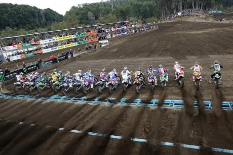 Le Championnat de Motocross MXGP se poursuit en Suisse
