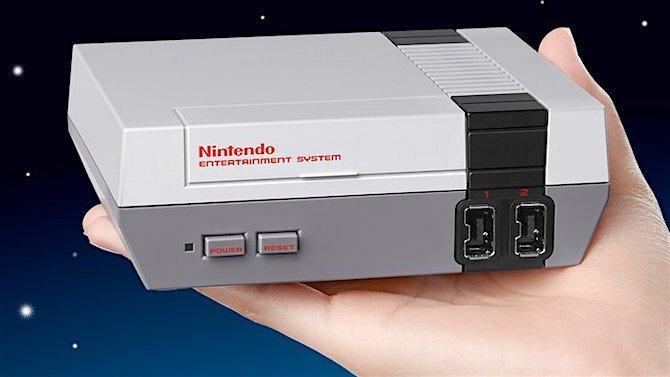 Nintendo pense au rétro et fait un brillant hommage avec la sortie de la Nintendo Classic Mini