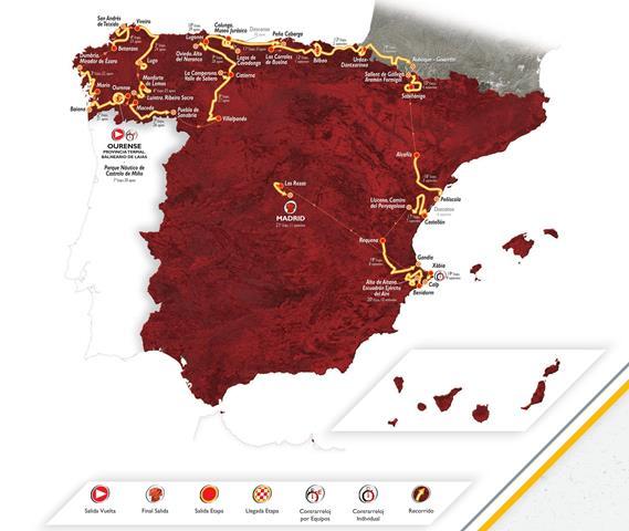 Présentation du parcours du prochain Tour d'Espagne 2016