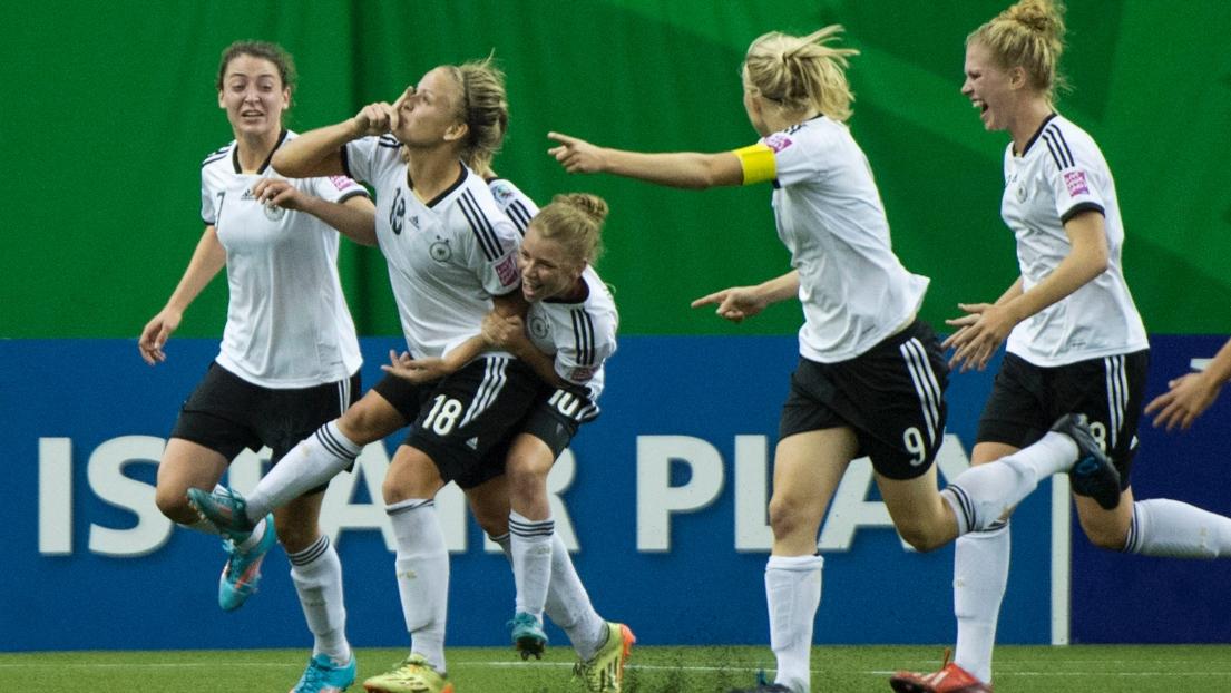 résultat du match de foot féminin
