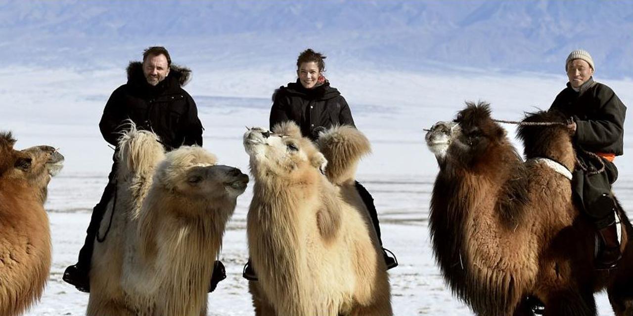 Rendez-vous en terre inconnue avec Mélanie Doutey en Mongolie à voir sur France 2 en vidéo