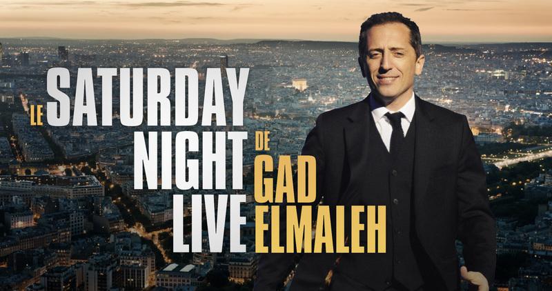 Voir le Saturday Night Live en direct sur M6 : Replay vidéo Gad Elmaleh