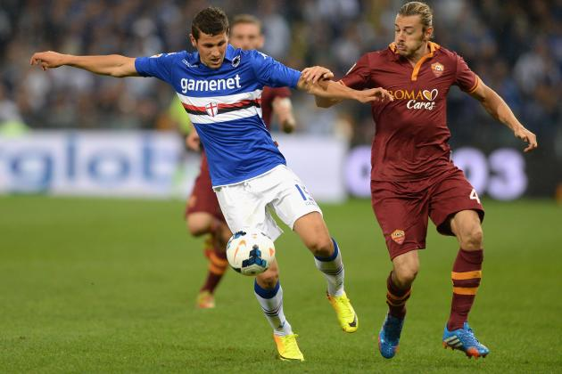 Les 8es de finale de la Coupe d'Italie de football : Résultat match AS Rome Sampdoria