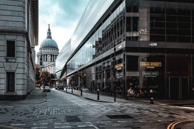 Londres City Saint Paul Cathedrale Travel