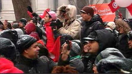 Tunisiens à Montréal