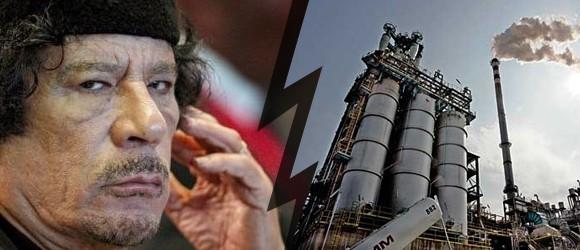 Kadhafi veut brûler le pétrole
