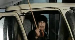 Kadhafi en direct