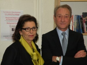Faouzia Farida Charfi & Bertrand Delanoë
