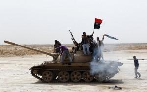 Des opposants Libyens