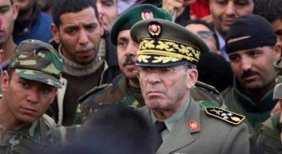 Chef D'État-major : Le Général Rachid Ammar