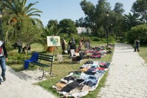 Vide grenier - Solidarité - Tunis
