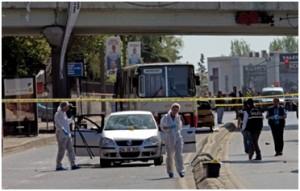 Explosion d'une bombe à Istanbul en Turquie