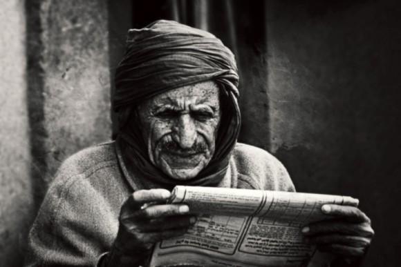 Reading in a digital age - Photographie de Wassim Ghozlani