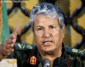 Abdel Fattah Younès : Chef des opérations militaires des rebelles