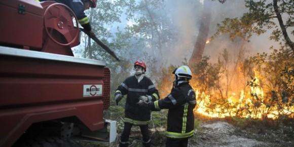 Un incendie à djebel Boukornine à Hammam Lif