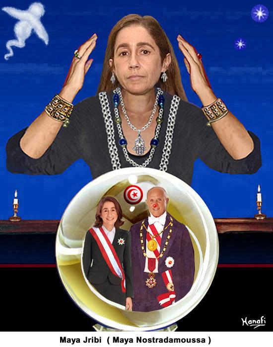 Maya Jribi (Maya Nostradamoussa)