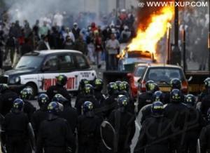 Émeutes à Londres