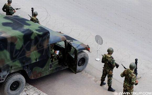 Douz: Affrontement entre les militaires tunisiens et un groupe d'individus armés