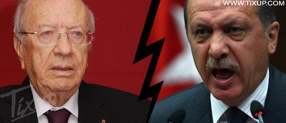 Béji Caïd Essebsi - Recep Tayyip Erdogan