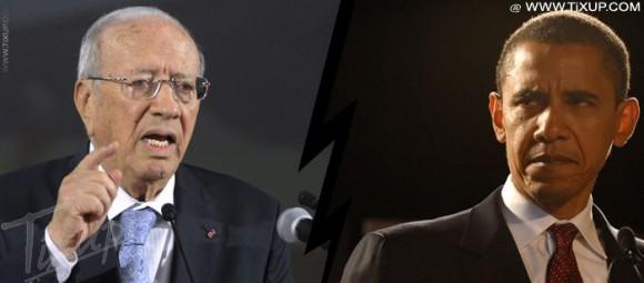Béji Caïd Essebsi - Barack Obama