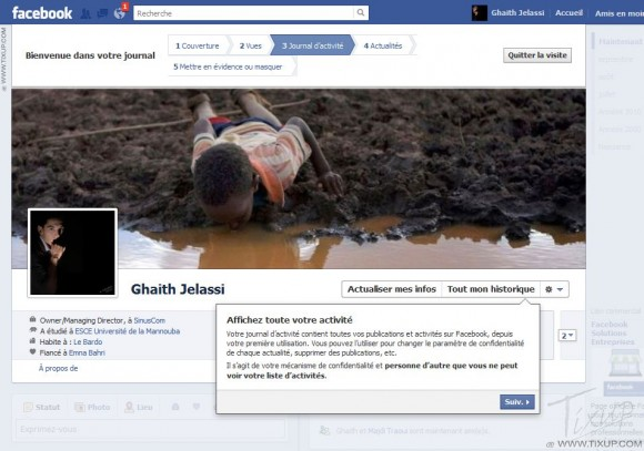 Facebook : Comprendre le Journal