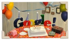 Google 13eme anniversaire